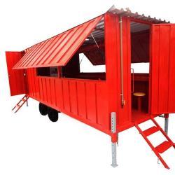 Área de vivência container