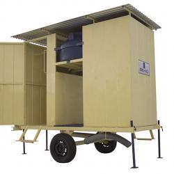Banheiro sanitário móvel