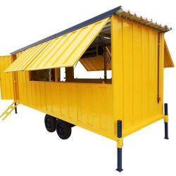 Container para área de vivência
